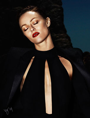 SEA, SEX & SUN starring Vanessa Paradis for #VioletGrey  |  Photographed by Ben Hassett