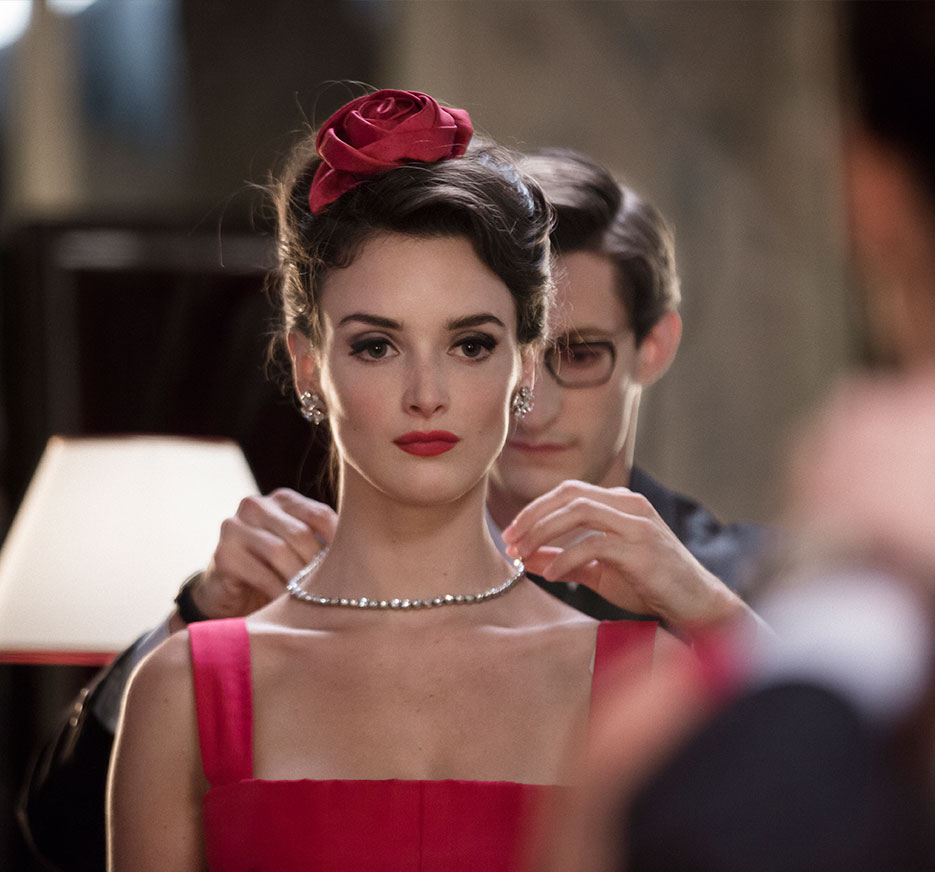 "SHE'S SO VIOLET: Charlotte Le Bon, the star of ""YVES SAINT LAURENT""  