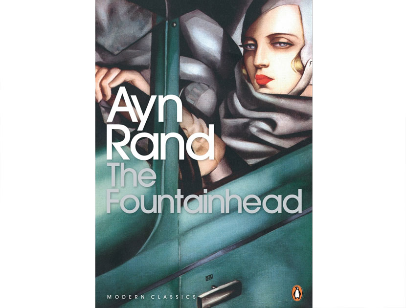 "The Fountainhead by Ayn Rand | Eva Mendes' Violet Must | ""I read it every few years"" - Eva Mendes 