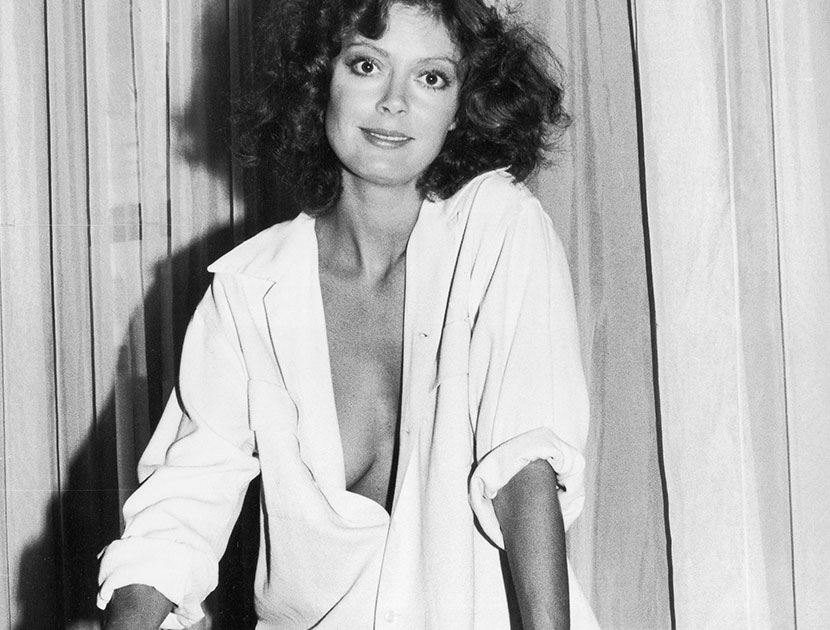 """She forged a career that didn't just stem from the fact that she had the best boobs in Hollywood."" —Ellen Barkin on Susan Sarandon  